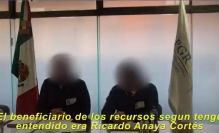 """EMPRESARIOS REVELAN ESQUEMA de LAVADO de DINERO del """"DECENTE CANDIDATO ANAYA"""""""