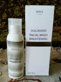 Facial Brightening Wash ERTOS Tarrie Shop