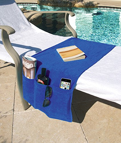 chaise lounge covers with pockets