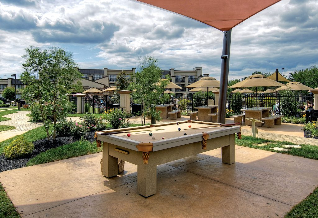 Indoor Outdoor Pool Table