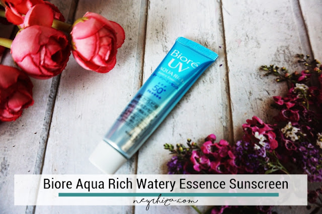 BIORE AQUA RICH SUNSCREEN