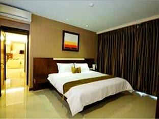 1 tempat tidur Scarlet Dago Hotel siliwangi No 5 bandung penginapan murah dekat itb bandung