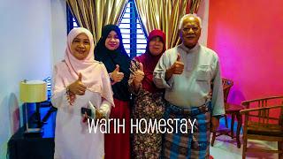 Warih-Homestay-Pn-Asmah-Bersama-Keluarganya