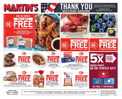 Martin's Weekly Ad