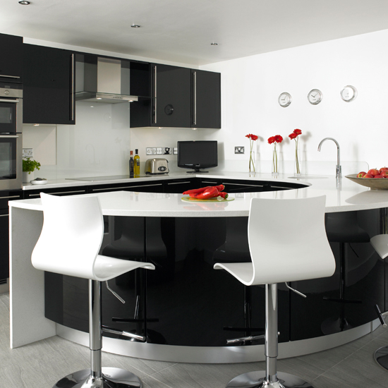 25 Curved Kitchen Island Counter Ideas, That Will Make