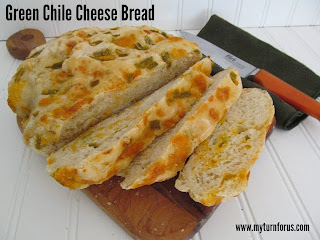 Green Chile Cheese Bread from My Turn for us