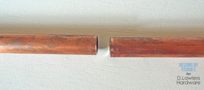 connect copper pipes