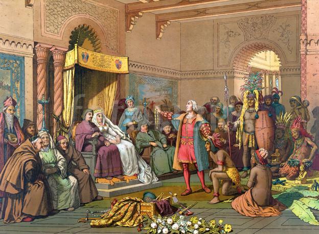 christophe colomb rencontre avec les indiens