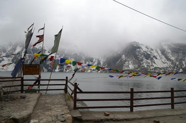 Misty Changu Lake, East Sikkim