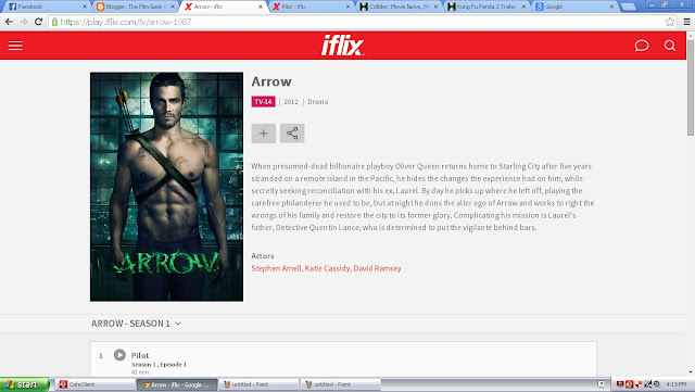 iflix arrow
