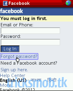 Create your own Facebook Mobile Phishing Using Wapka