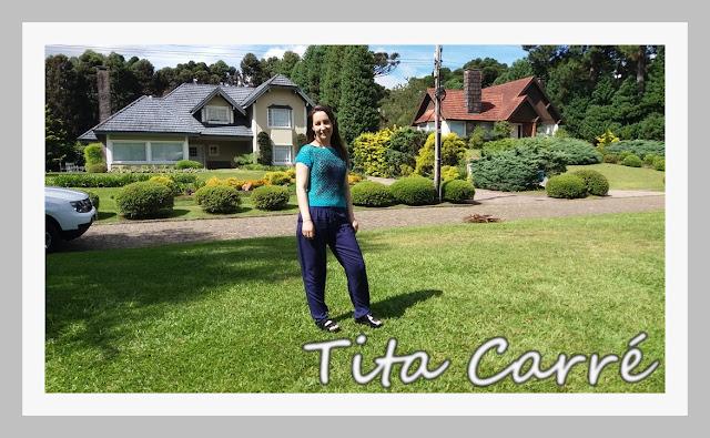 Tita Carré vestindo Tita Carré