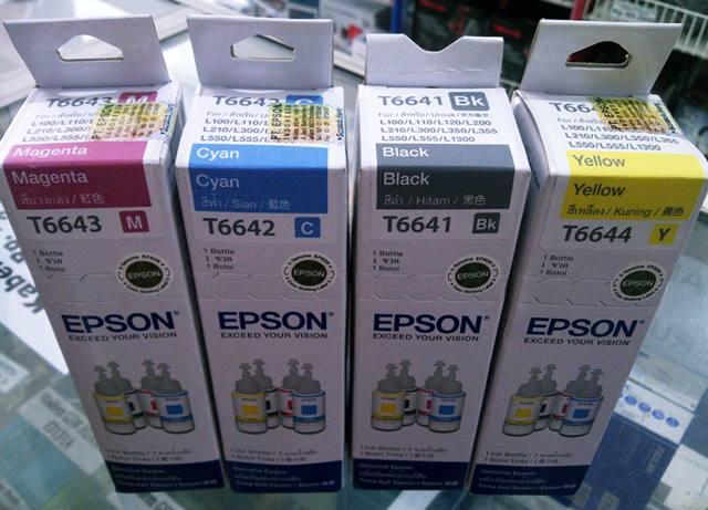 Daftar Harga Terbaru Tinta Cartridge Printer Epson ORI Mei 2017