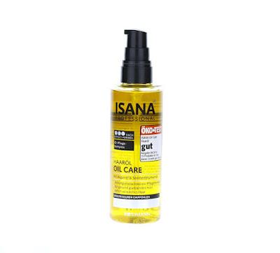Isana professional Olejek do włosów suchych i zniszczonych