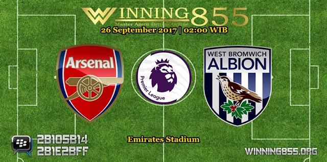 Prediksi Skor Arsenal vs West Brom