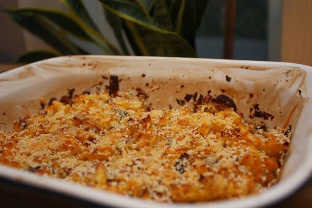 Cauliflower Mushroom Casserole