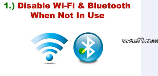 disabler wifi /blutooth