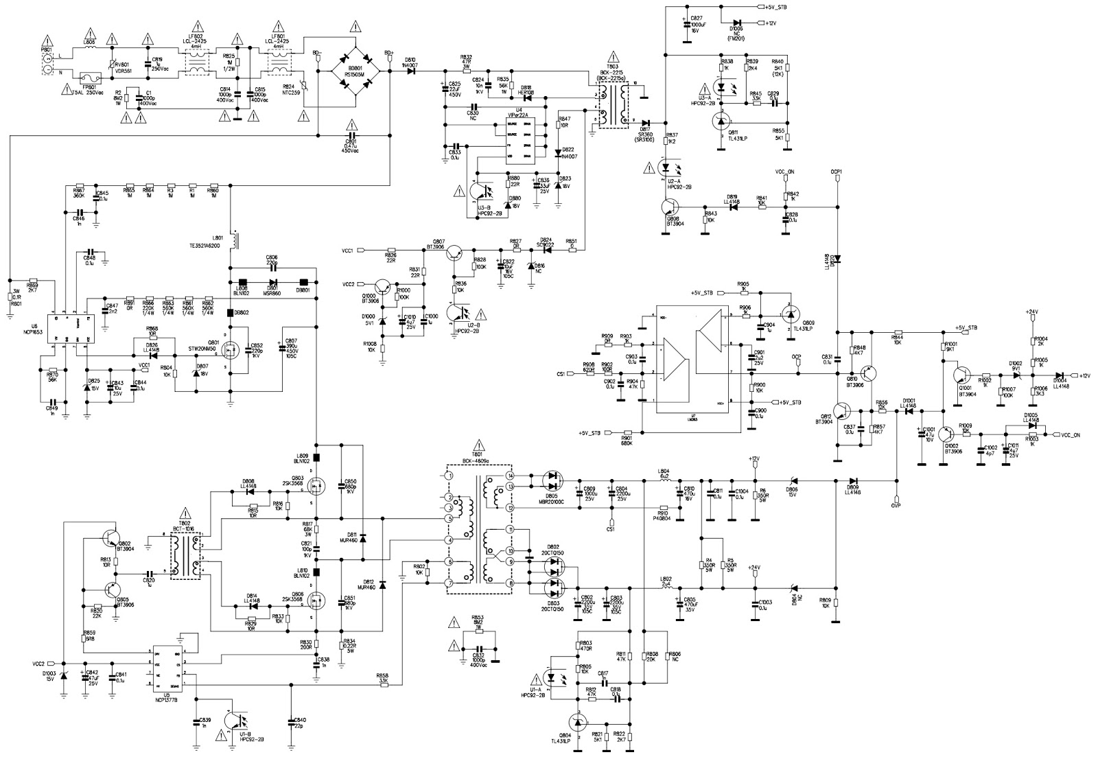 Old Fashioned 450w Smps Illustration - Simple Wiring Diagram ...