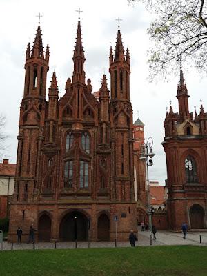 iglesia santa ana vilna
