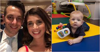 ΄Εβελυν και Αντώνης Αργυροκαστρίτης, οι γονείς του μικρού Ηλία ψάχνουν ανάμεσα στους Έλληνες δότη μυελού για τον 11 μηνών γιό τους