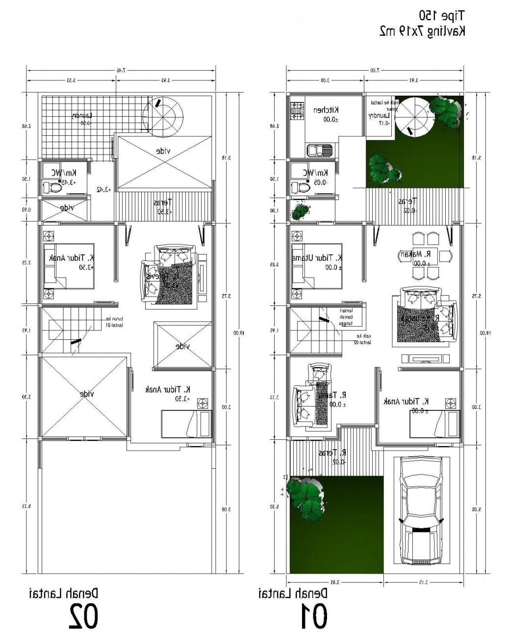 desain rumah type 100 idaman 2