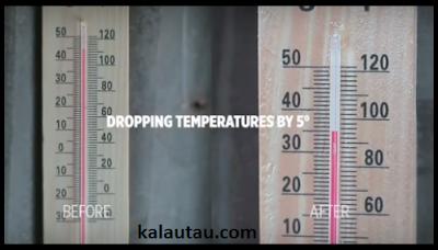 kalautau.com - AC tanpa listrik ini bisa menurunkan suhu sampai 5 derajat.