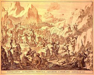 Μέγας Αλέξανδρος η κατάληψη του βράχου της Σογδιανής