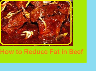 How to Reduce Fat in Beef