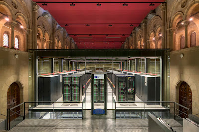 Barcelona Super Computing Center Interior