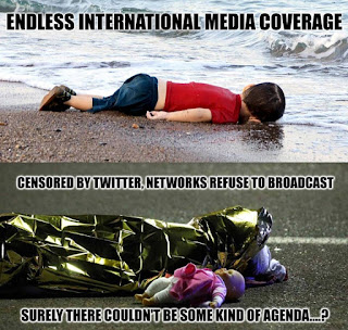 Η κάτω φωτογραφία είναι νεκρό παιδί από τη σφαγή στη  Nίκαια της Γαλλίας...