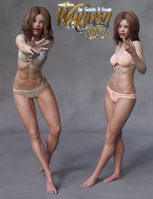 Whymsy Poses for Genesis 3 Female