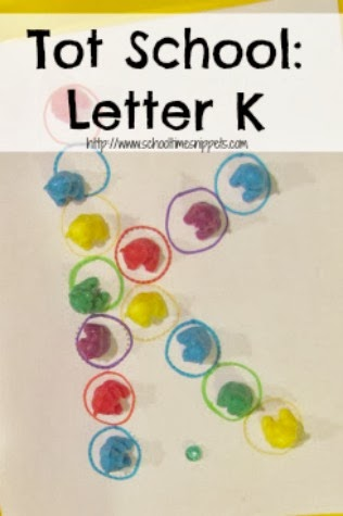 Letter K Toddler Activities