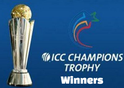 icc champions trophy, winners, champions, finals, results, list, by year.