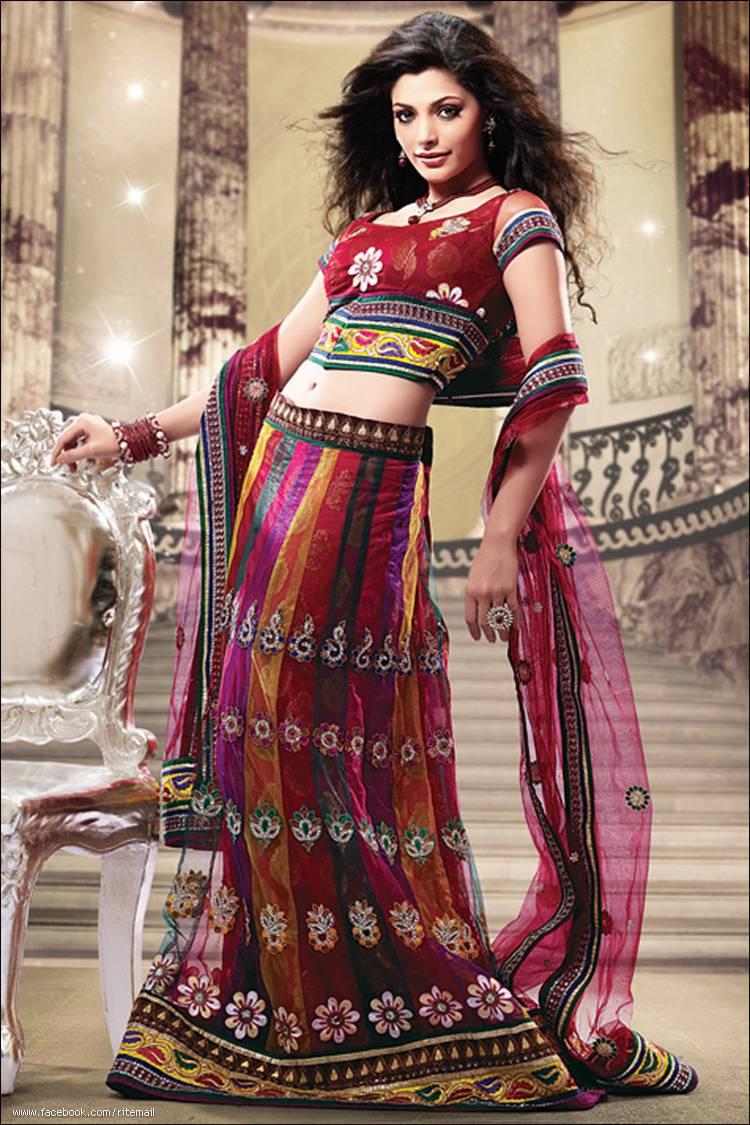 indian lahanga designs wide exclusive village choli lehenga garment naj collection petticoat global pm posted