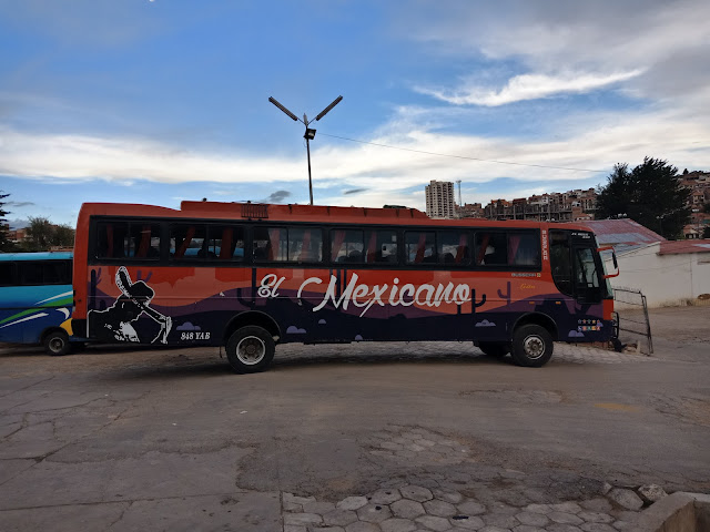Bus Sucre Samaipata