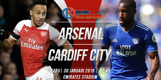 Prediksi Bola Arsenal vs Cardiff Liga Inggris