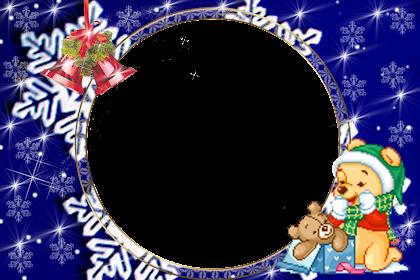 Marcos Para Fotos Online Gratis Navidad
