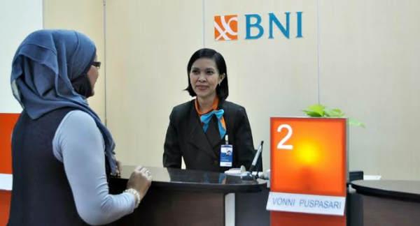 Minimal Setor Tunai di Teller Bank BNI