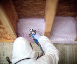 contractor insulating basement