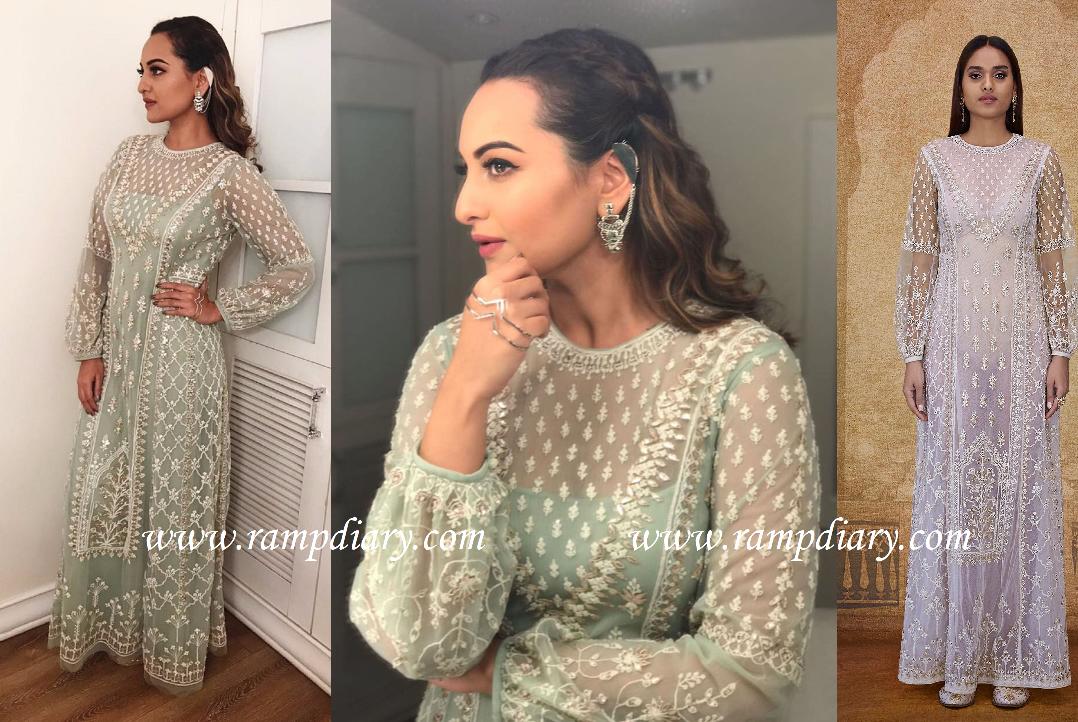 Sonakshi Sinha in Anita Dongre outfit