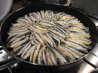 Fried Anchovy (Hamsi Tava)