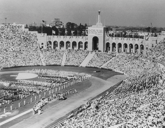 Coliseum, Los Angeles, 1932, olimpisme