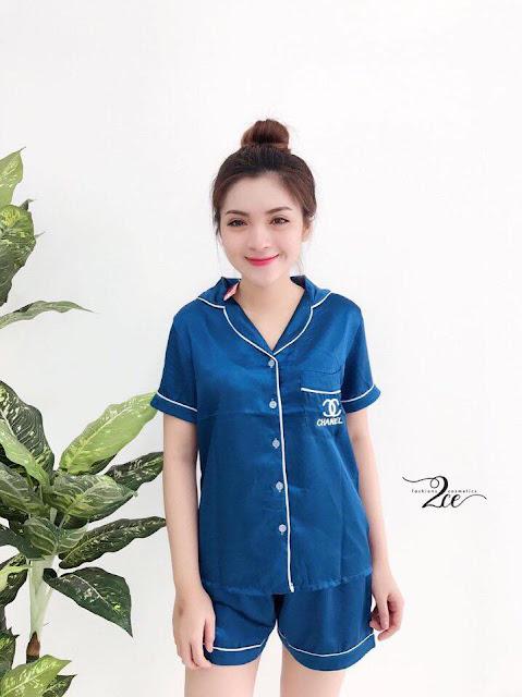 Bộ short pijama dễ thương cho bạn giá giá rẻ tại bình dương
