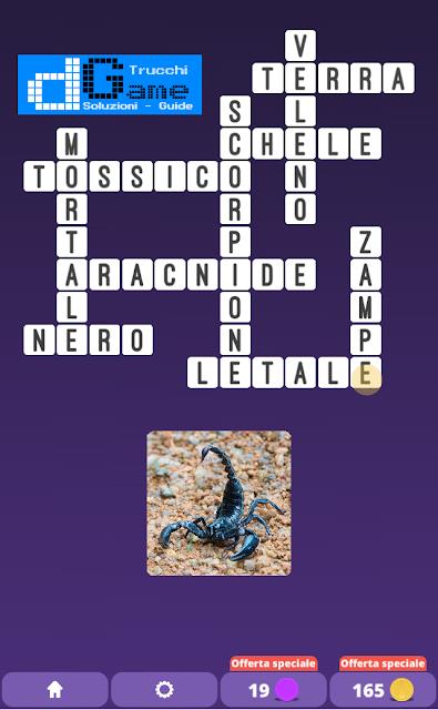Soluzioni One Clue Crossword livello 17 schemi 7 (Cruciverba illustrato)  | Parole e foto