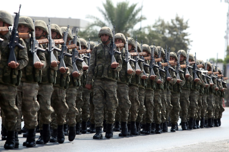 Turkey has more than 30,000 soldiers deployed in northern Cyprus, which remains a deeply divisive issue
