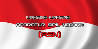 Poin Inti Undang-Undang Republik Indonesia Nomor 5 Tahun 2014 tentang Aparatur Sipil Negara (ASN)