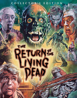 Carátula de la edición coleccionista en bluray de Return of the living dead