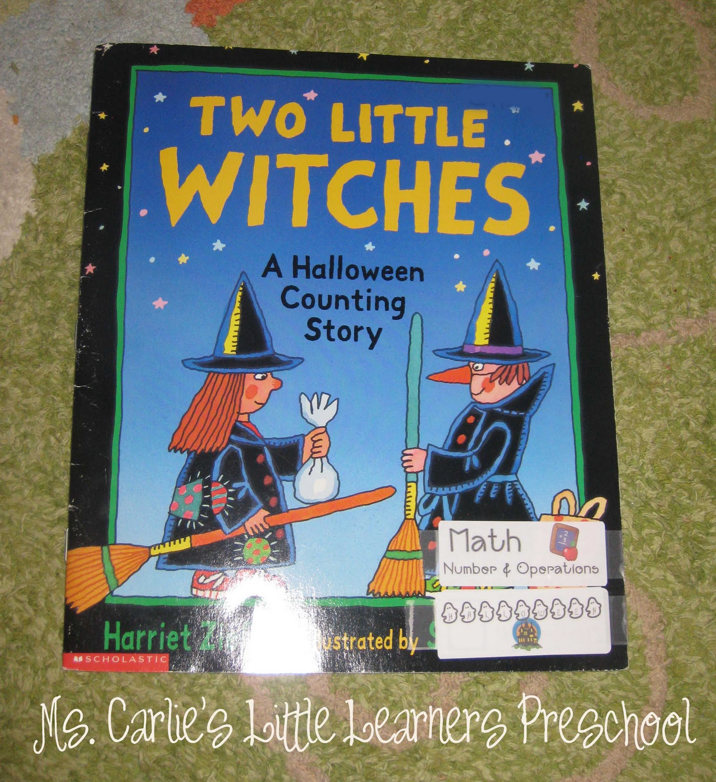 Ms Carlie S Little Learners Preschool Halloween Activity Five Little Pumpkins Amp A Counting Story