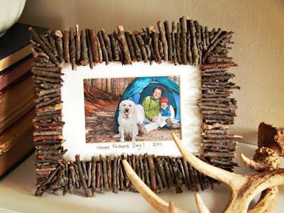ไอเดียงานประดิษฐ์ทำกรอบรูปเป็นของขวัญของตกแต่งบ้าน