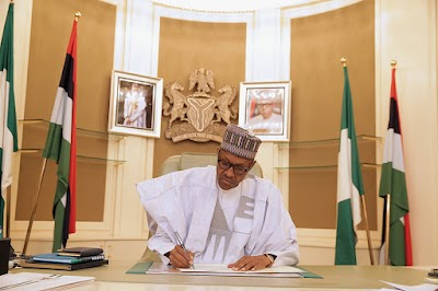 BREAKING: Buhari signs 'Not too young to run' bill into law (Video)